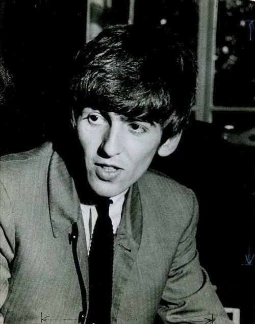 George in Liverpool 1963 and being interviewed in 1964.