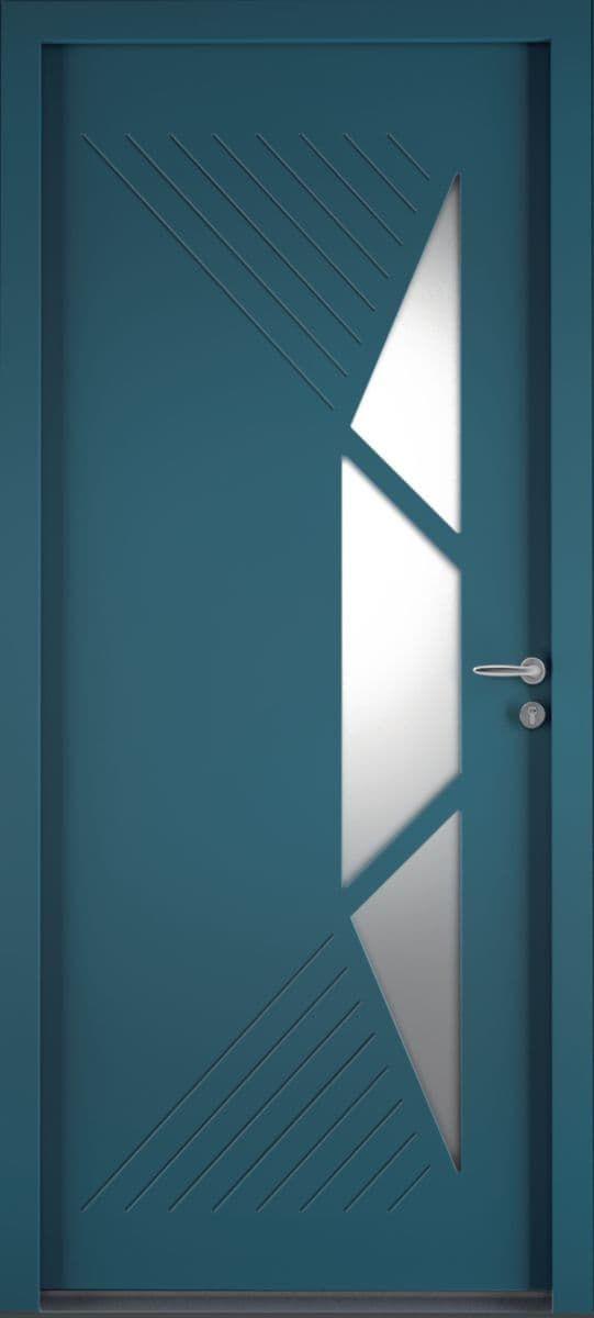Porte D Entree Aluminium Access Modele Cytiss 12 En 2020 Porte Entree Aluminium Porte Aluminium Menuiserie Exterieure