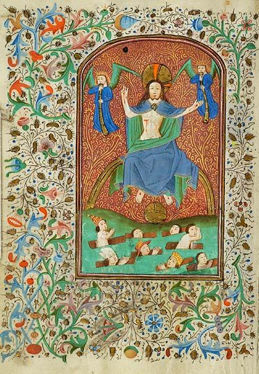 Christ: Last Judgment | Book of Hours | Belgium, Tournai | 1450-1460 | The Morgan Library & Museum