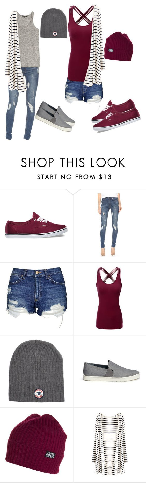 """Super Chill"" by wendy-bishop ❤ liked on Polyvore featuring мода, Vans, Cheap Monday, Topshop, Doublju, Converse, Vince и rag & bone"