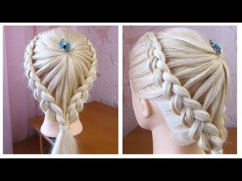 Tuto Coiffure Simple Et Belle Coiffure Avec Tresse Facile A Faire Easy Braid Hairstyle Youtube Coiffure Tresse Coiffures Simples Belle Coiffure