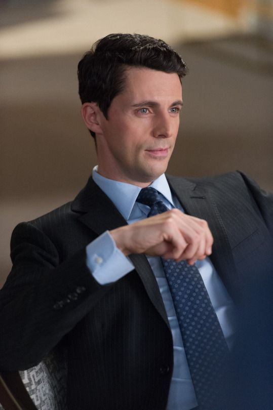 It's all about Matthew Goode.