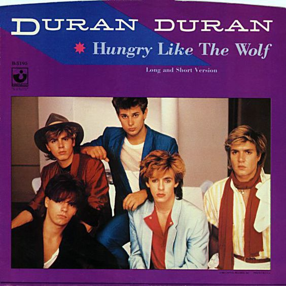 Duran Duran – Hungry Like the Wolf (single cover art)