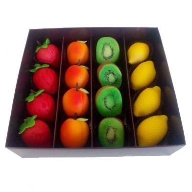 Marcepanowe owoce: