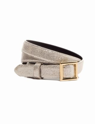 The Limited - Square Buckle Skinny Belt