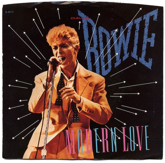 Modern Love b/w Modern Love (Live).  David Bowie, EMI America Records/USA (1983)  -  the first album I ever bought with my own $10.20.