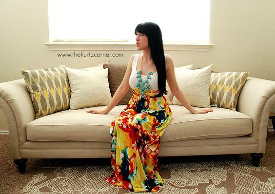 DIY Maxi Dress: