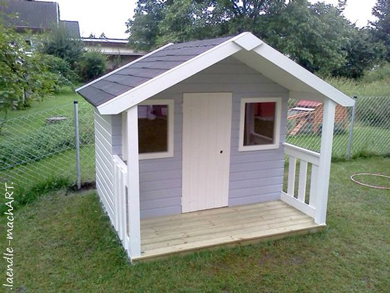 Gartenhaus, Spielhaus, Kinderspielhaus, Kindergartenhaus, DIY