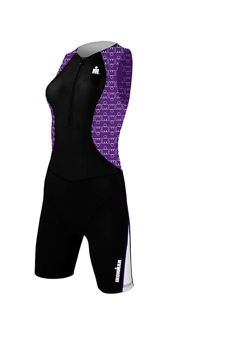 purple trisuit