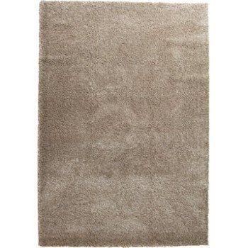 tapis marron shaggy lizzy l200 x l290 cm leroy merlin - Tapis Marron
