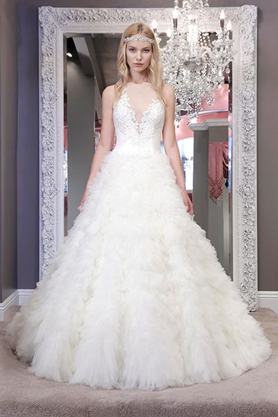 Wedding gown by Winnie Couture.