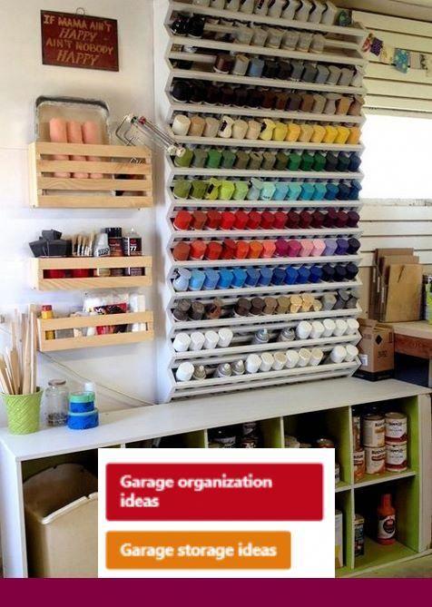 Small Garage Storage Organization Ideas And Garage Shelving