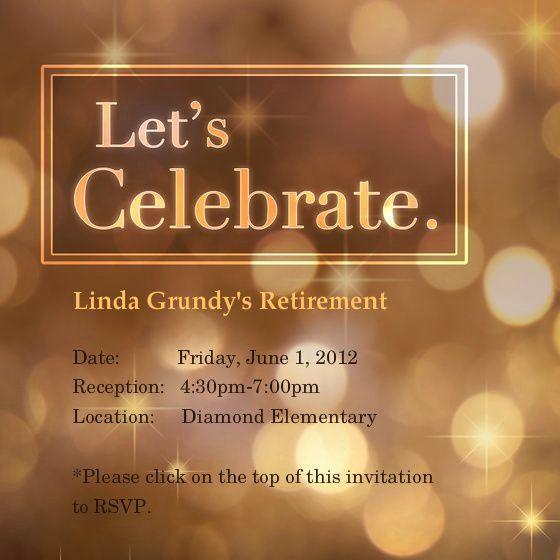 35 Retirement Party Invitation Template Word Retirement