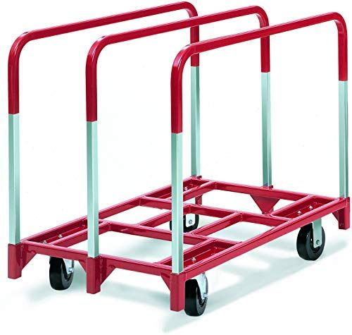 New Raymond 3850 Steel Panel Mover With 3 Standard Upright And 5 X 2 Phenolic Casters 2400 Lbs Capacity 41 Length X 32 Width In 2020 Steel Deck Steel Panels Casters