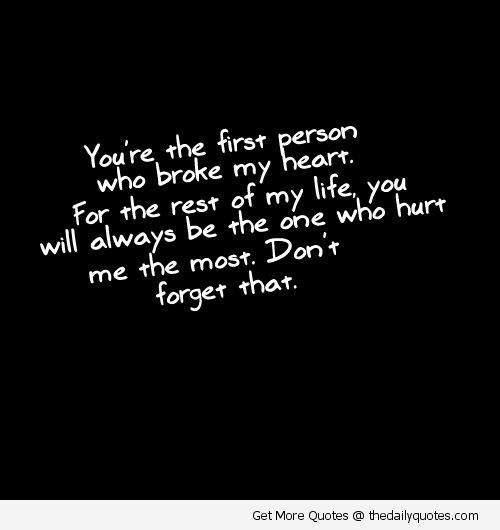 Broken heart quotes, Love life quotes and Heart quotes on ...