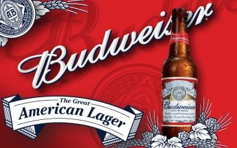 Pôster Budweiser The Great American Lager
