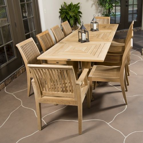 Pyramid Teak Dining Set For 10 People Westminster Teak Outdoor Furniture Sale Teak Outdoor Outdoor Furniture