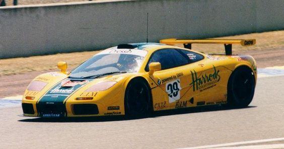 1996 McLaren F1 GTR LM  BMW (6.064 cc.) (A)  Andy Wallace  Olivier Grouillard  Derek Bell