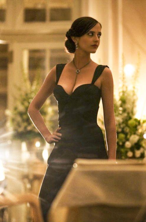 Eva Green on the set of Casino Royale | Eva green casino