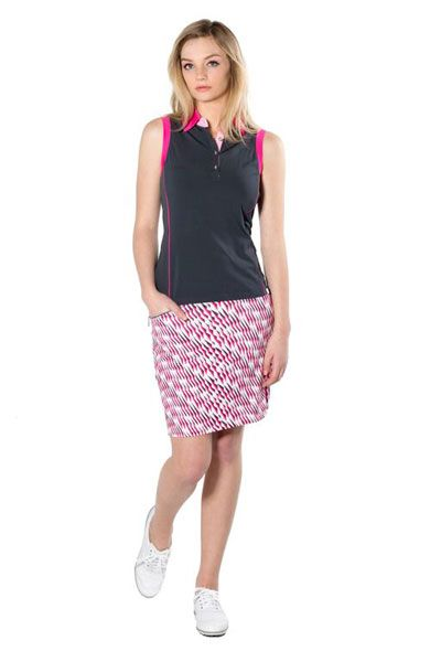 Introducing a must-have golf lifestyle brand, Cherry Picked GGblue Ladies Golf Black and Pink Outfit at #lorisgolfshoppe