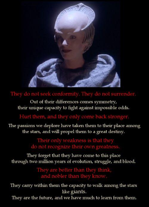 Babylon 5 Quotes About Love : ... of Delenn Babylon 5 Pinterest The wisdom, Wisdom and Babylon 5