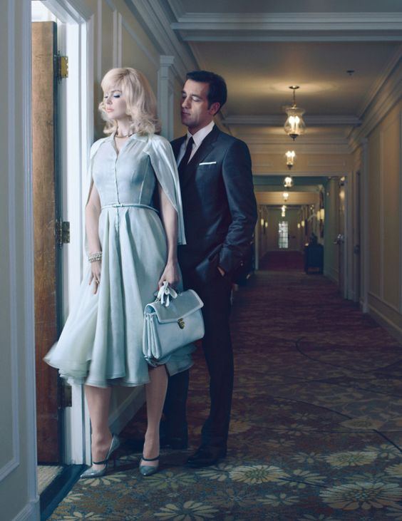 "Nicole Kidman and Clive Owen in ""An Affair To Remember"" by Emma Summerton for W Magazine May 2012"