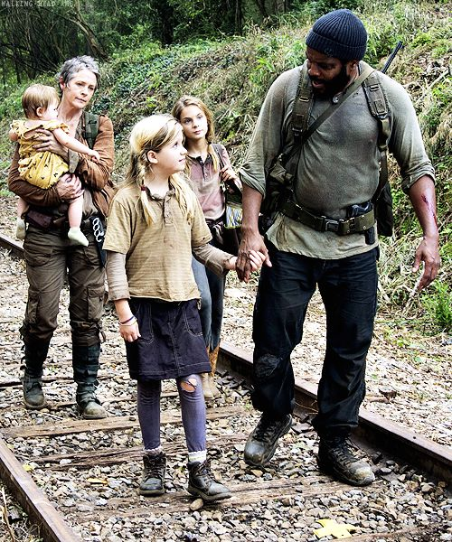 Tyreese, Carol, Lizzie, Mika and Judith ~ The Walking Dead