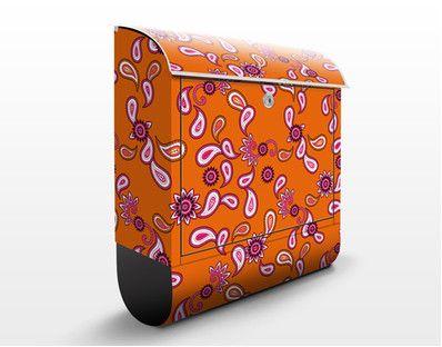Oranges Paisley Design 39x46x13cm