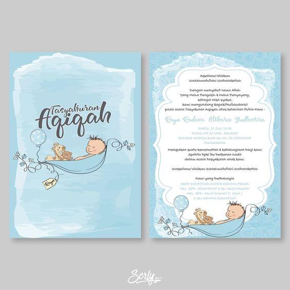 Rayn 2 Sincerely Indonesia Scrly Id Invitation Weddinginvitation Invitationdesign Wedding Prewedding Custo Contoh Undangan Pernikahan Kartu Kartu Bayi