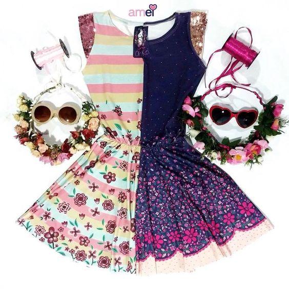 Tudo se completa #lojaamei #vestido #muitoamor #flores #rosa #roxo