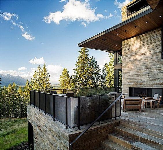 Architektur: Ein tolles Haus in den Rocky Mountains   KlonBlog