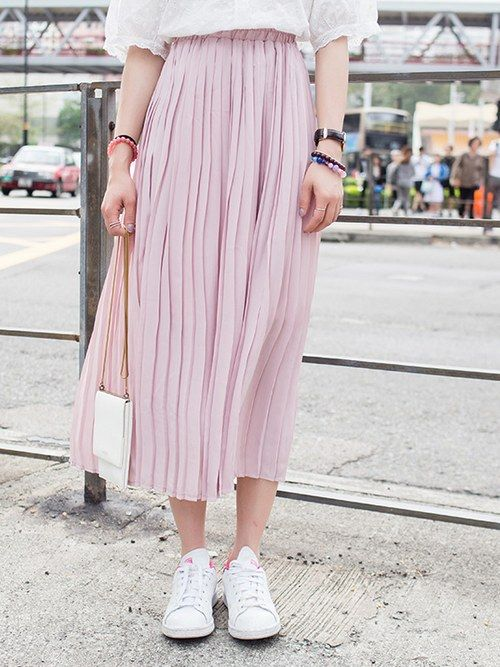 Japan  Style   Bouffancy    Fresh   Long  Skirt: