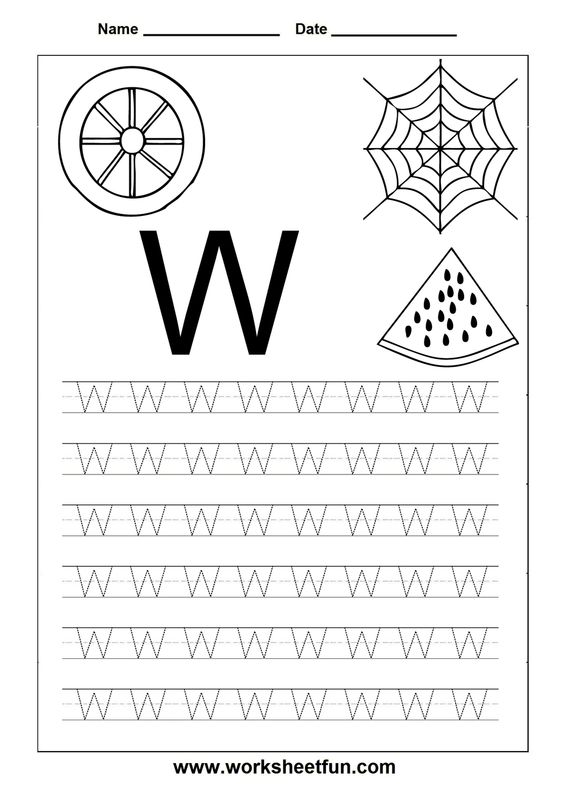 Free Printable Worksheets: Letter Tracing Worksheets For ...