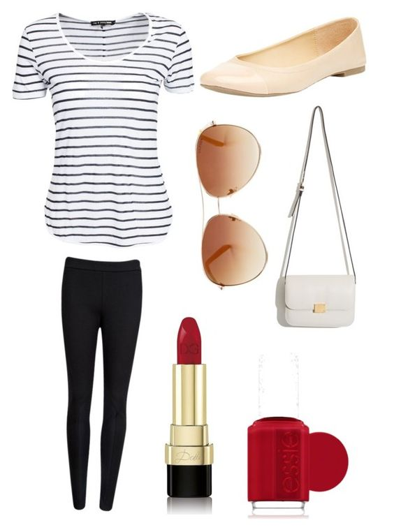 """""""Stripes and Contrast #12"""" by danie-hand ❤ liked on Polyvore"""