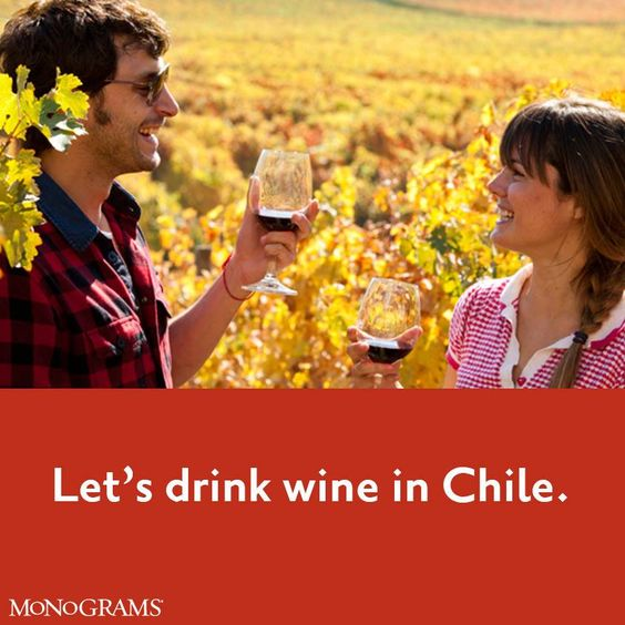 Have you been to Chile? http://social.monograms.com/L6G #Monograms #IndependentTravel
