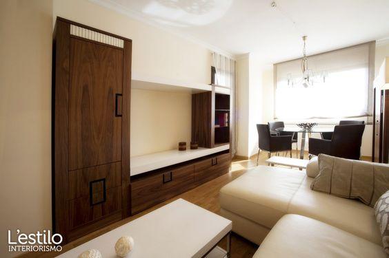 Proyecto de amueblamiento integral de pisos piloto para Grupo PRASA realizado por L'estilo interiorismo.  ¡Feliz viernes!