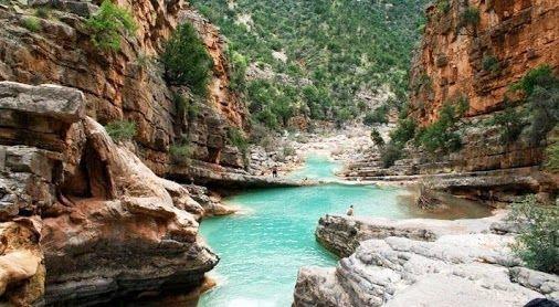 la vallee du Paradis Agadir