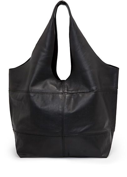 MANGO - TOUCH - Hobo leather bag