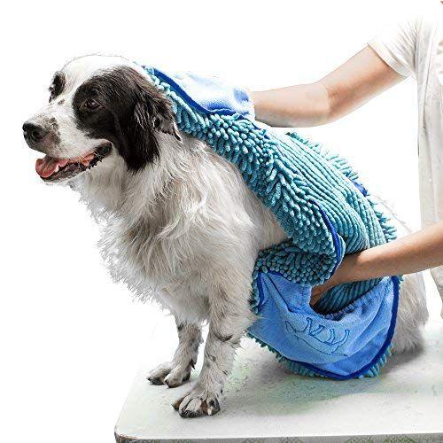 Amazon Com Tuff Pupper Large Dog Shammy Towel Ultra Absorbent