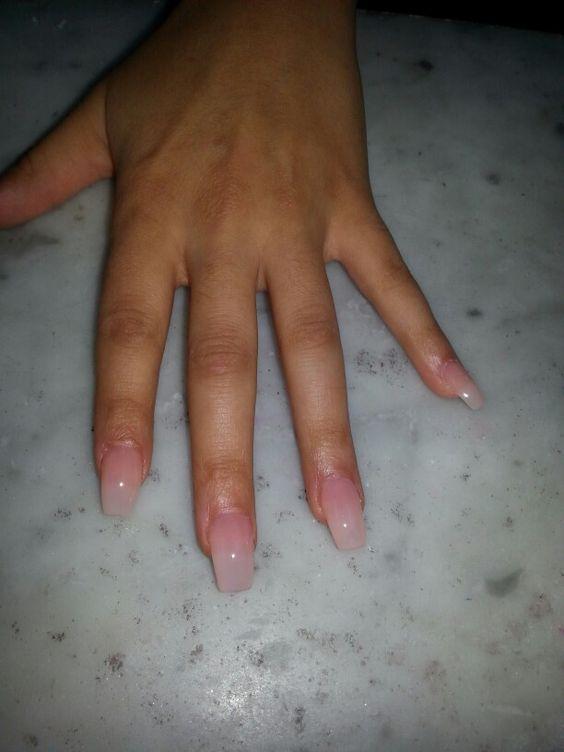 Natural coffin shape nails | Nails | Pinterest | Shape ...