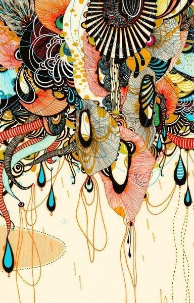 .: Allusion Yellena, Yellena James, Pattern, Doodle, Color, James D'Arcy, Drawing