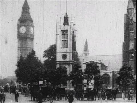 Old London Street Scenes (1903) This is awesome video filmed 33 years after Dickens' death but still gives a good idea of what the London streets of his time would look like.