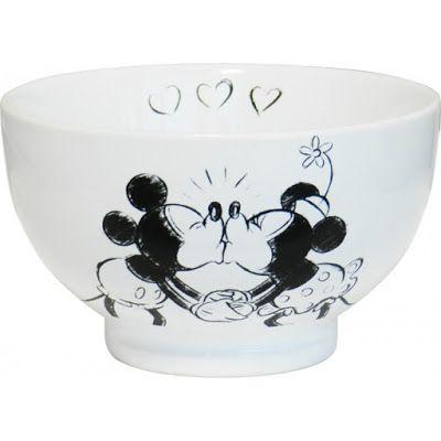 Bol para Cereales Mickey Minnie Beso   Tazas y Jarras