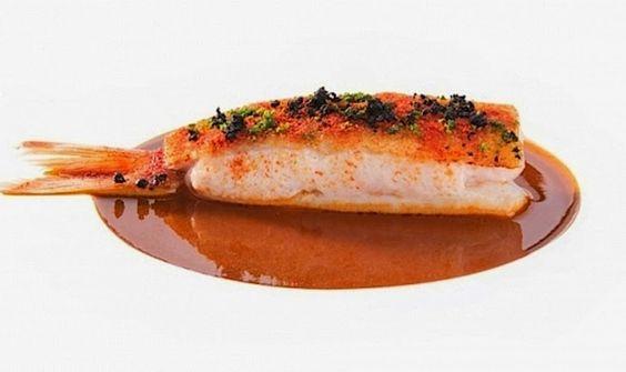 massimo bottura food | Triglia alla livornese di Massimo Bottura al Food&Wine festival