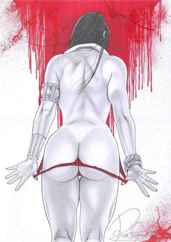 Vampirella by Rick Waekmann - Ed Benes Studio