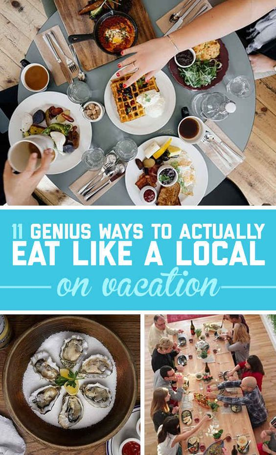 Here's How You Can Actually Find The Best Local Food When You're Traveling  Yaaass @MightyDRex