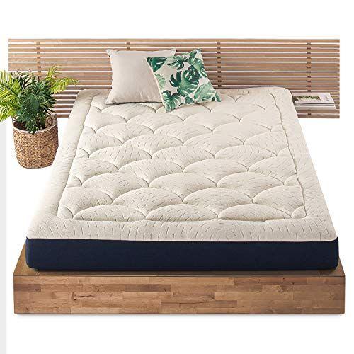 Mellow 8 Inch Marshmallow Twin Mattress Bed In A Box Pillow Top Plush Cushion Topcertipur Us Certified Non Toxic F Box Bed Mattress Design Comfort Mattress
