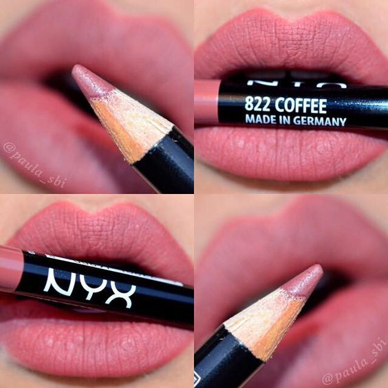 Nyx lip liner in coffee is STUNNING! But is coffee always this color in Germany? 😝
