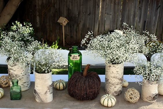The Sweet Life Studio: Decorating with Birch