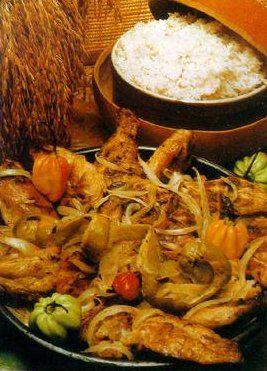 Recette du  poulet  yassa #cuisine